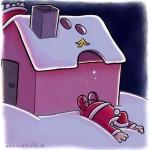 Weihnachtsmann - nicht lustig